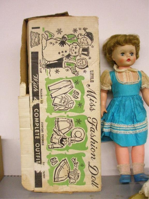4: 1950's Deluxe Reading Little Miss Fashion Doll - 2
