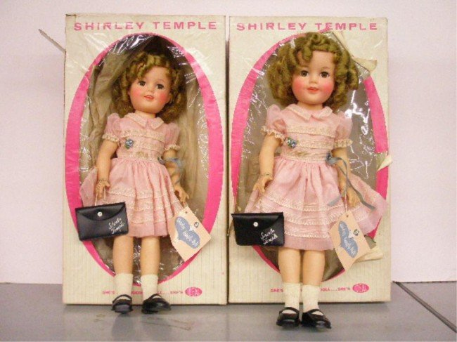 6: 1960 Ideal Shirley Temple Dolls