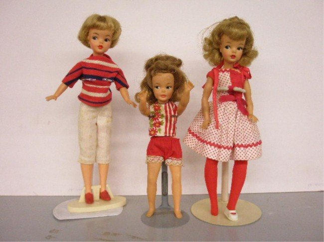 13: 1960's Ideal Tammy & Pepper Dolls