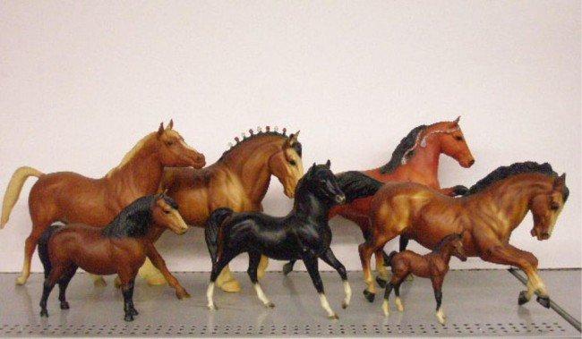 21: Vintage Breyer Plastic Horse Figures