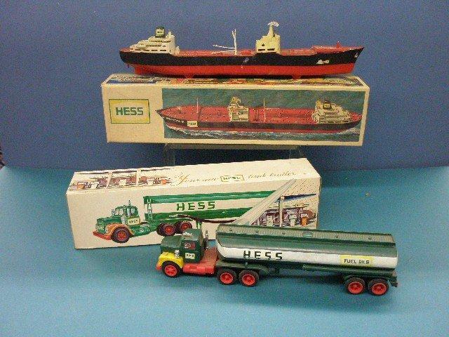 268: 1966 & 1967 Hess Boat & Tanker
