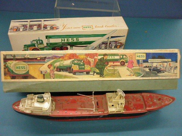 268: 1966 & 1967 Hess Boat & Tanker       - 2