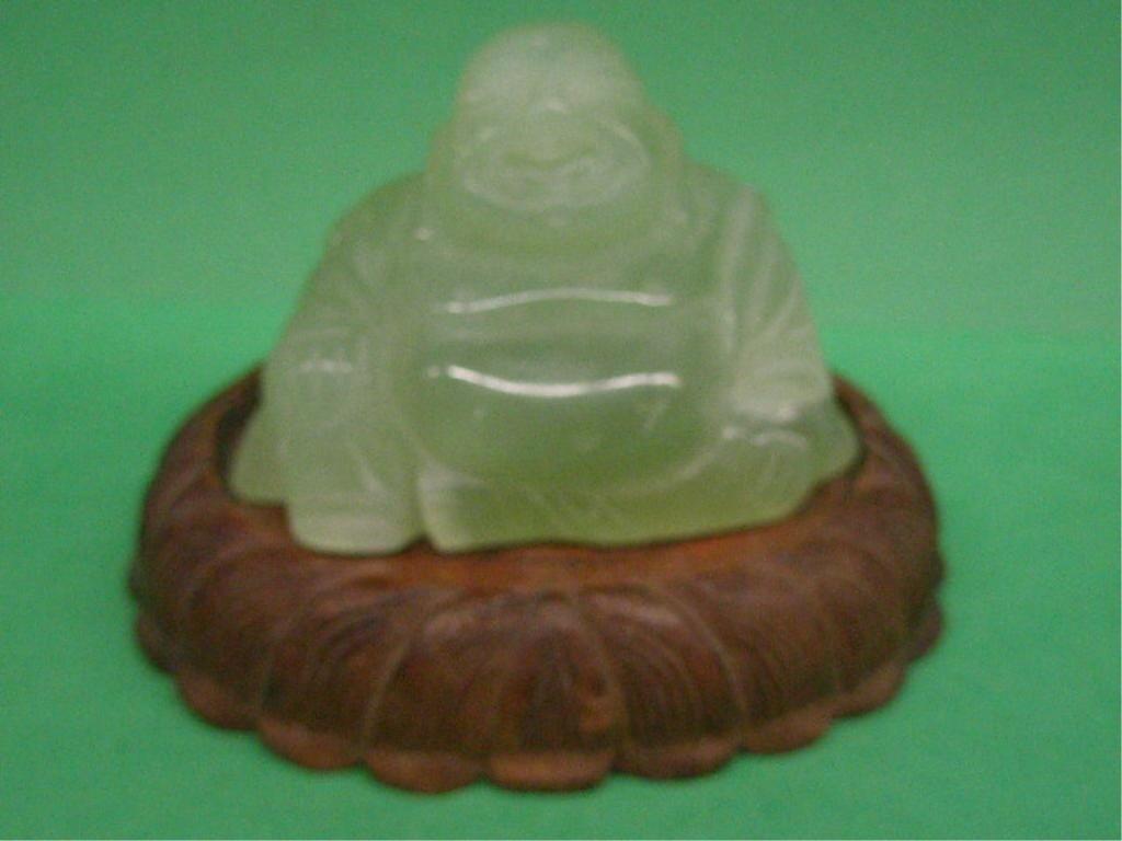 1015: Chinese Jade Seated Buddha