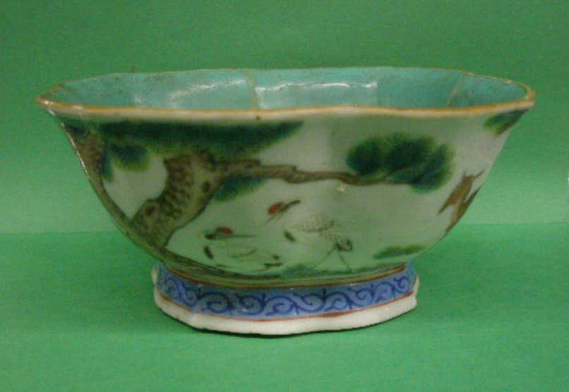 1021: Chinese Porcelain Bowl