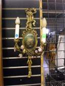 1191 Pr Neoclassicalstyle Wall Sconces