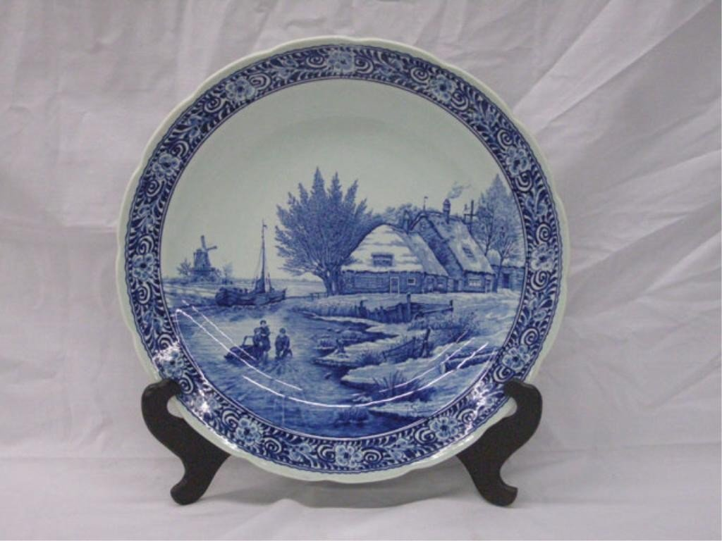 2003: Delft Pottery Wall Charger