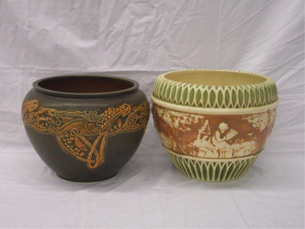 2004: Roseville Pottery Jardinieres