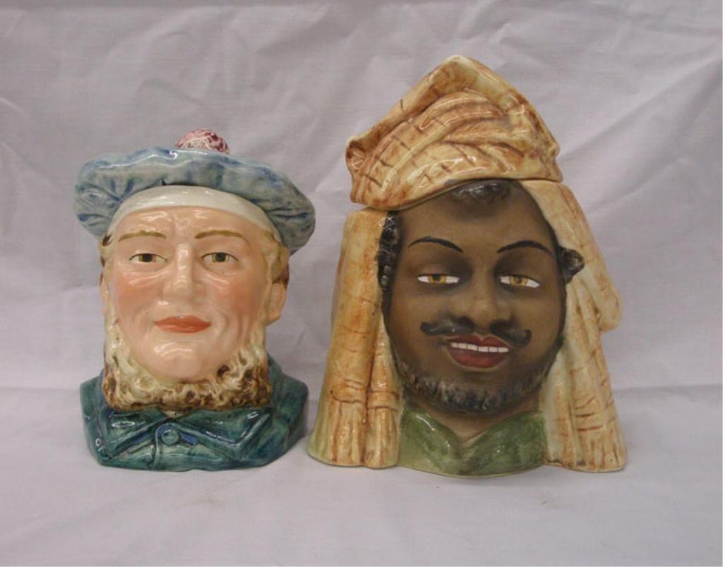 2011: Majolica Figural Humidors