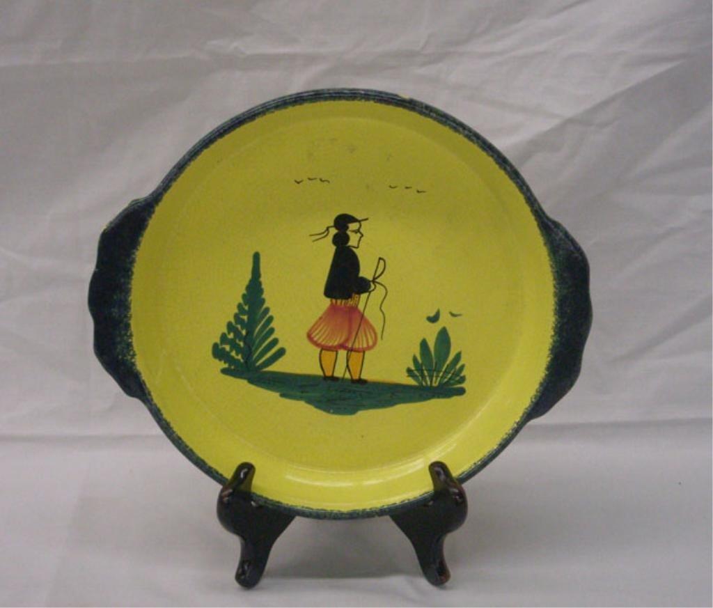 2013: Quimper Pottery Baking Dish