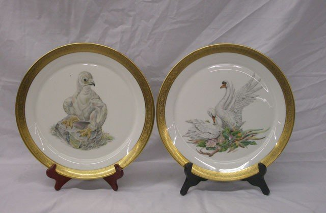 2017: Boehm Porcelain Bird Plates