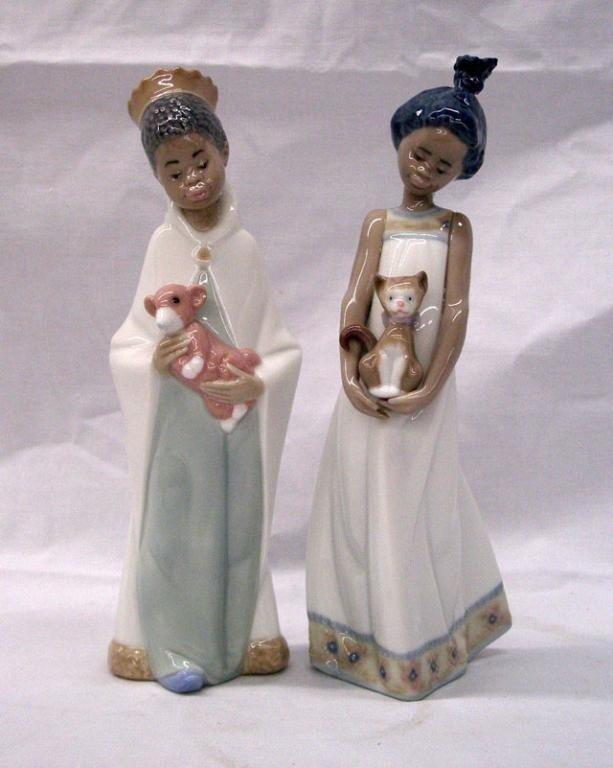 2022: Lladro African American Figures