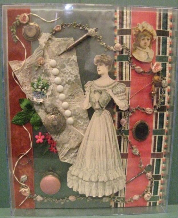 2113: Diaorama of Victorian Accoutrements