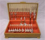 2291 Wallace Sterling Silver Flatware Set