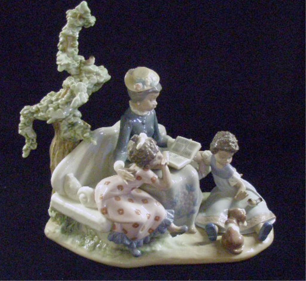 6: Lladro Family Roots Figure
