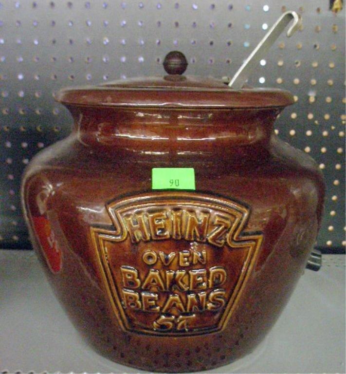 90: McCoy Pottery Heinz 57 Baked Beans Pot