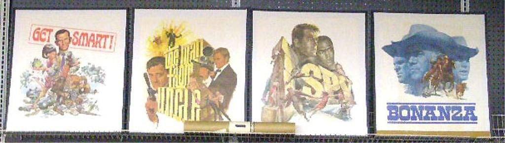 93: 1966 Promotional Television Show Posters