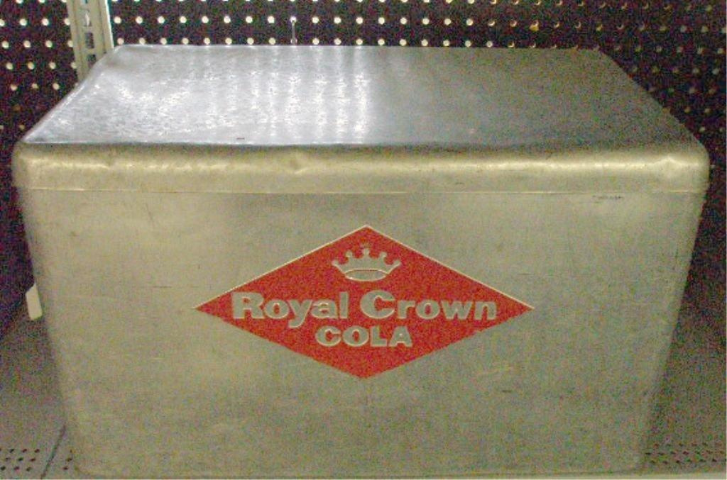 96: 1950's Royal Crown Cola Picnic Cooler