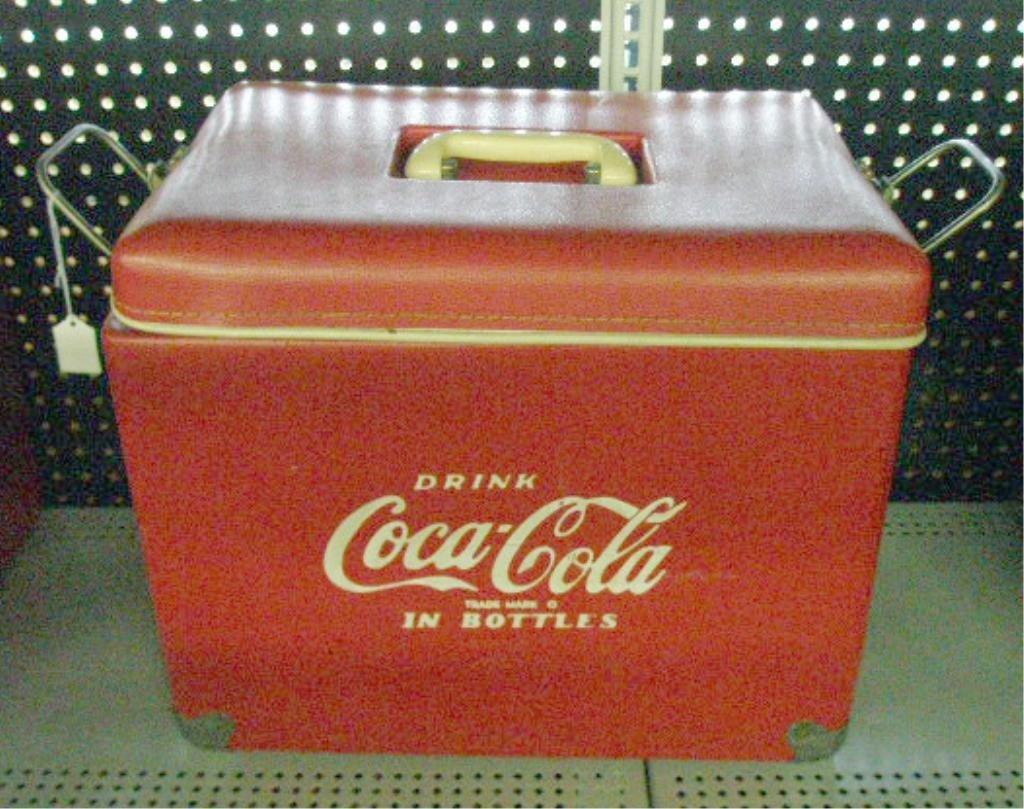 99: 1960's Coca Cola Picnic Cooler