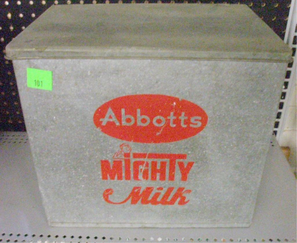 101: Vintage Abbott's Dairy Milk Box