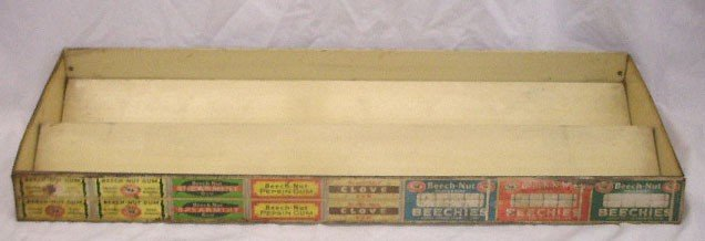 103: 1930's Beech Nut Gum Display Rack