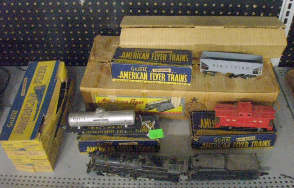 115: 1947 American Flyer Freight Train Set