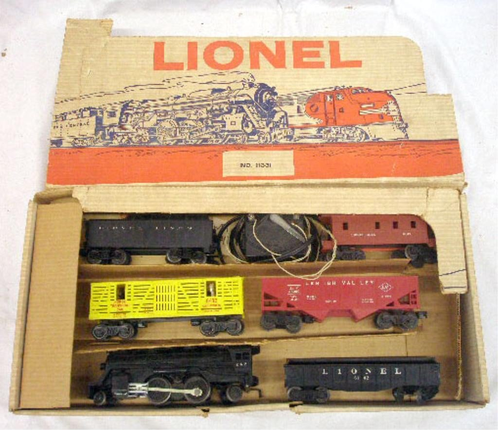 117: 1963 Lionel Freight Train Set