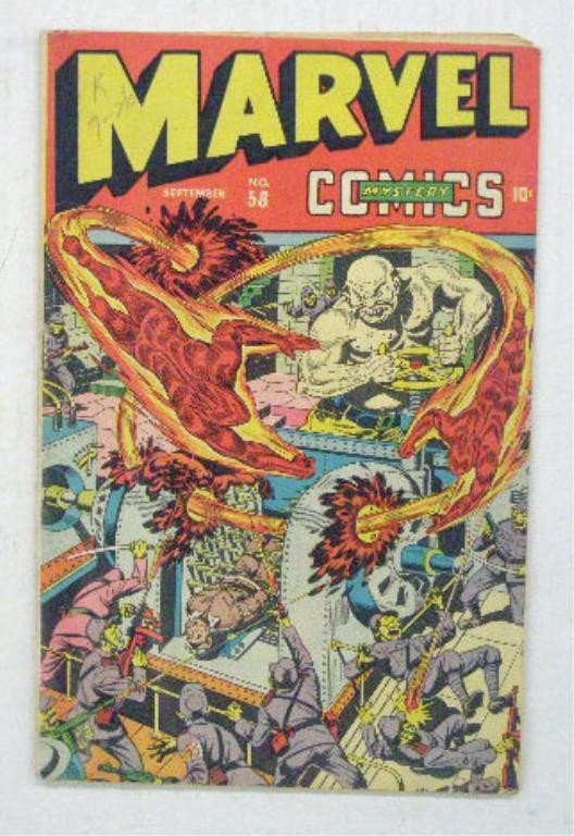 122: 1944 Marvel Mystery Comics Comic Book