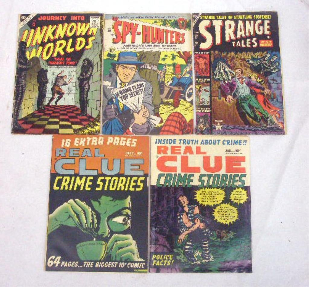 124: 1950's Comic Books Group