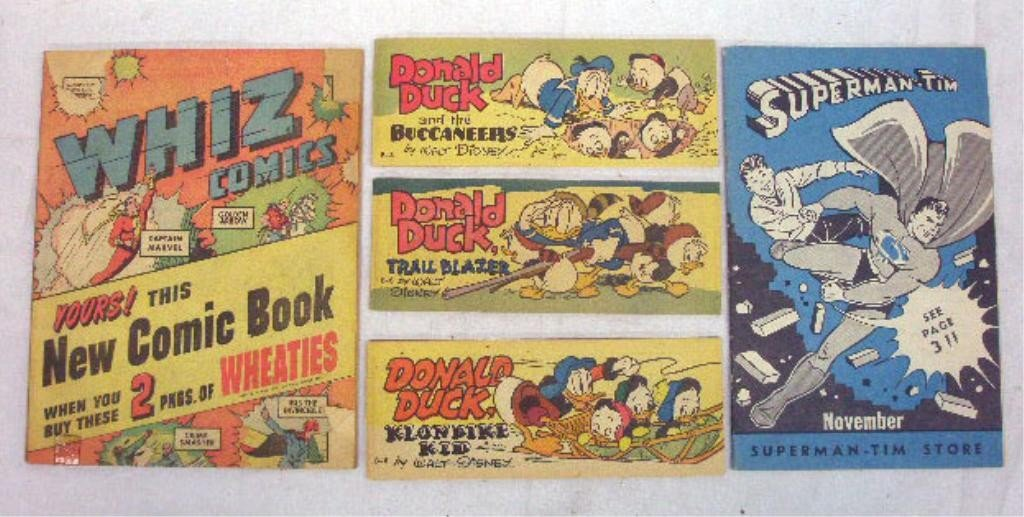 125: 1940's & 1950's Promotional Comic Books