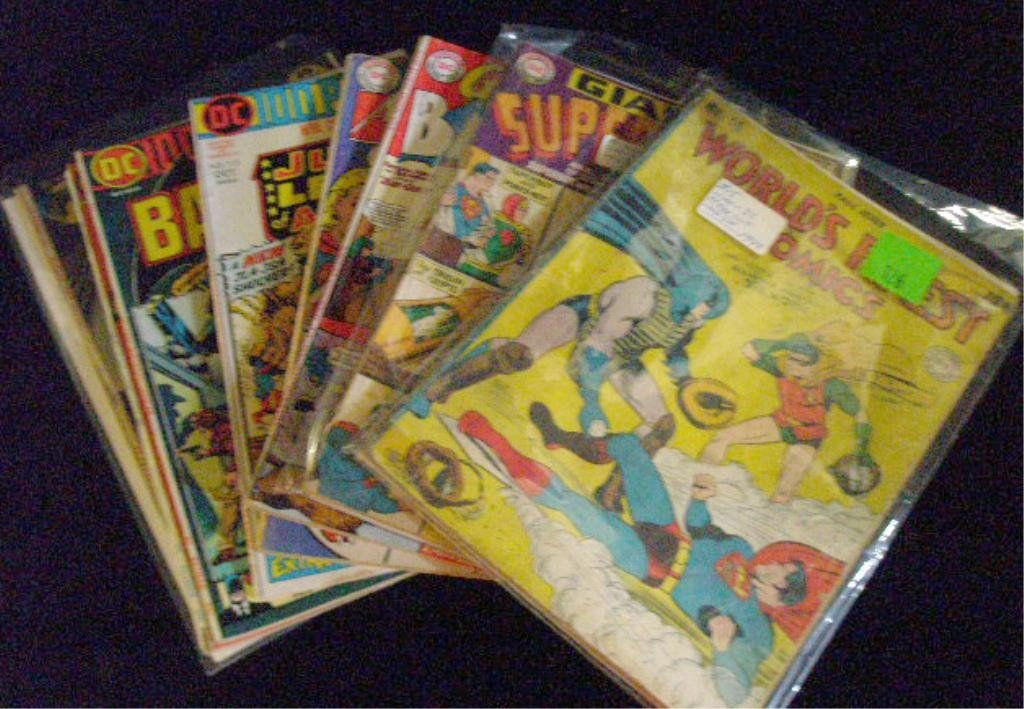 126: 1940's-1970's DC Comics Comic Books