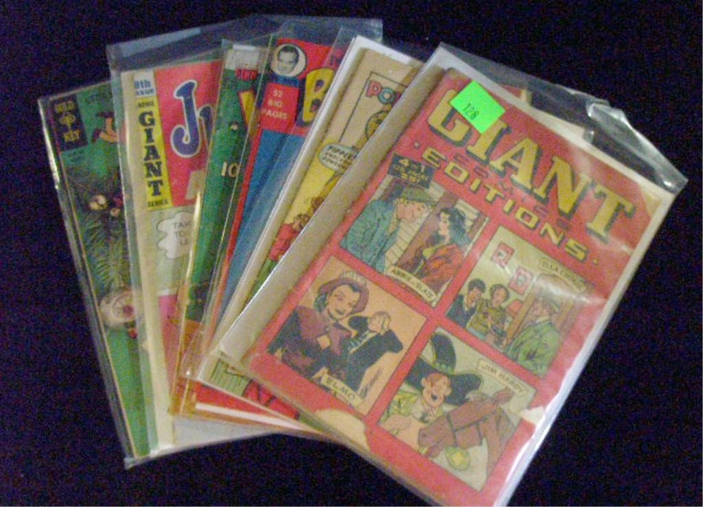 128: 1940's-1960's Comic Books Group