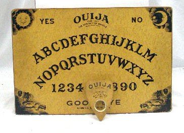 132: Vintage William Fuld Ouija Board