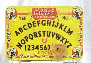 133: 1944 Magic Marvel Ouija Board