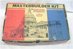 264 1960s Marx US Capitol  Presidents Play Set