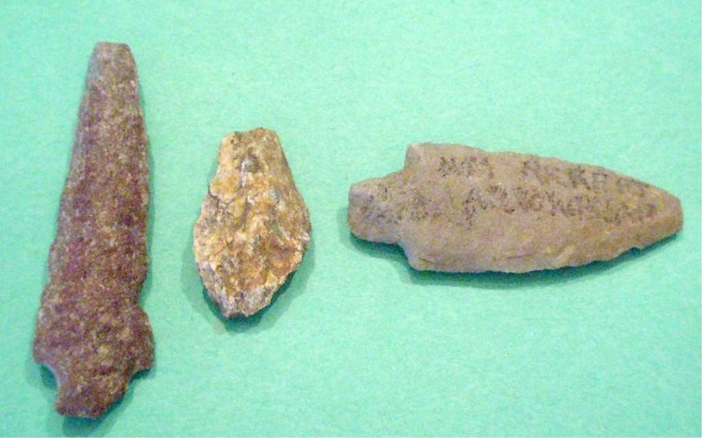 1003: 3 American Indian Projectile Points