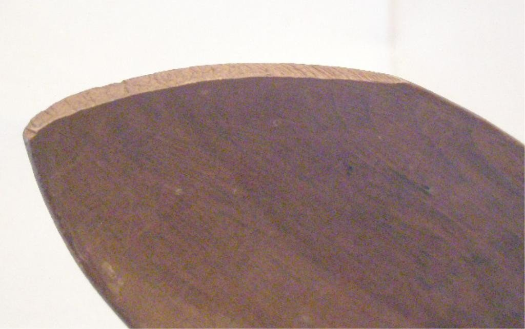 1015: Early Ahousett Tribe Wood Spoon - 4
