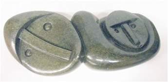 1049: Zachariah Njobo Stone Carving