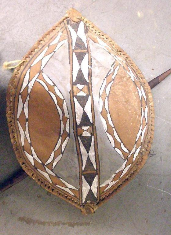 1062: African Shield & Spear - 2