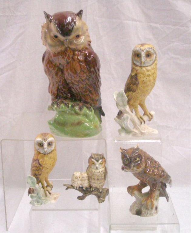 2001: Goebel Owl Figures