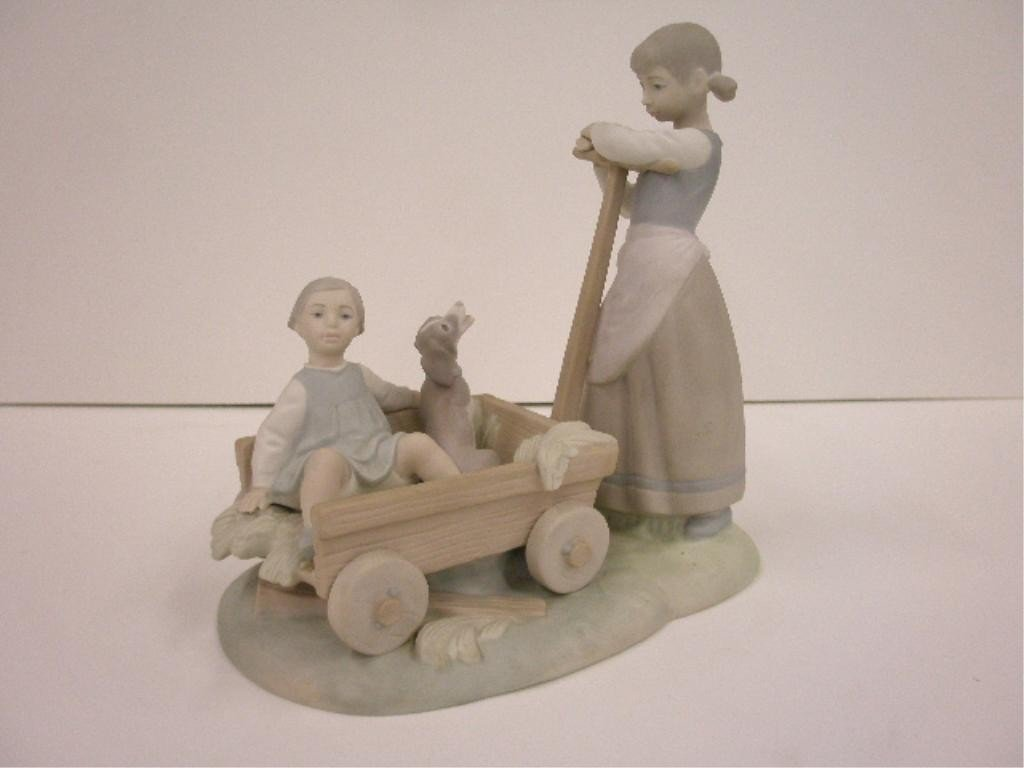 2010: Lladro The Cart Figure