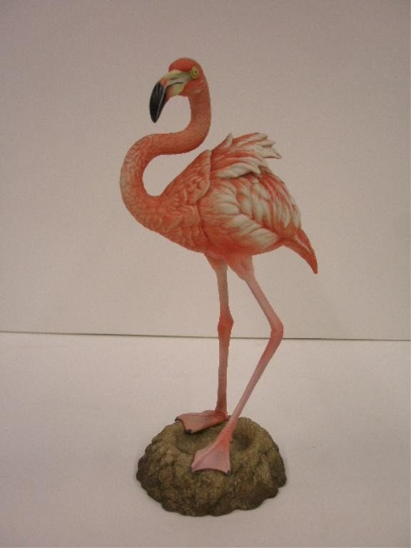 2018: Boehm Flamingo Figure