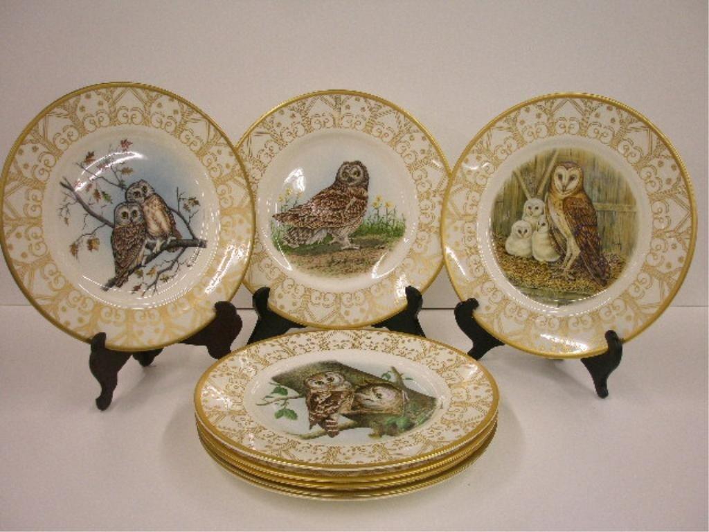 2021: Boehm Owls of North America Plates