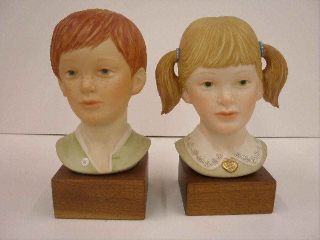 2024: Cybis Jeremy & Jessica Bust Figures