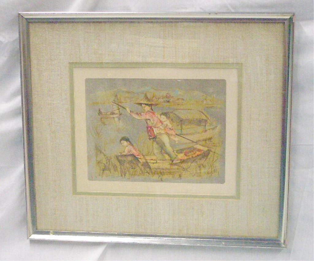 2076: Edna Hibel Colored Lithograph