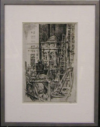 2024: E [arl Horter], signed in graphite, in margin