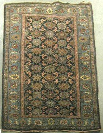 3005: Semi-antique Northwest Persian area carpet
