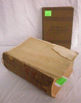 "1010: Quain, ed. ""A Dictionary of Medicine"", 4th ed."