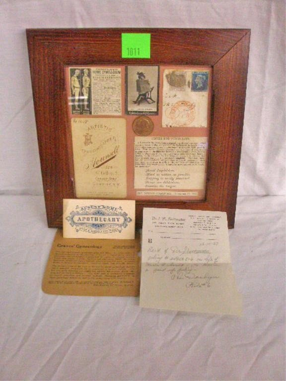 1011: Vintage Medical Ephemera