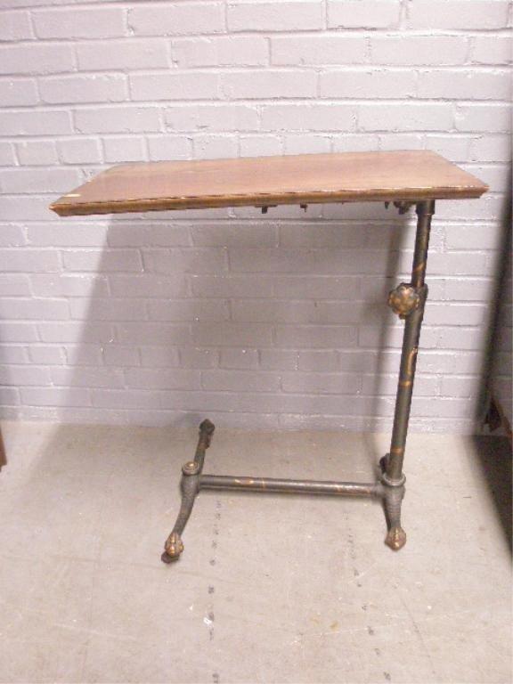 1026: Vintage Invalid's Table