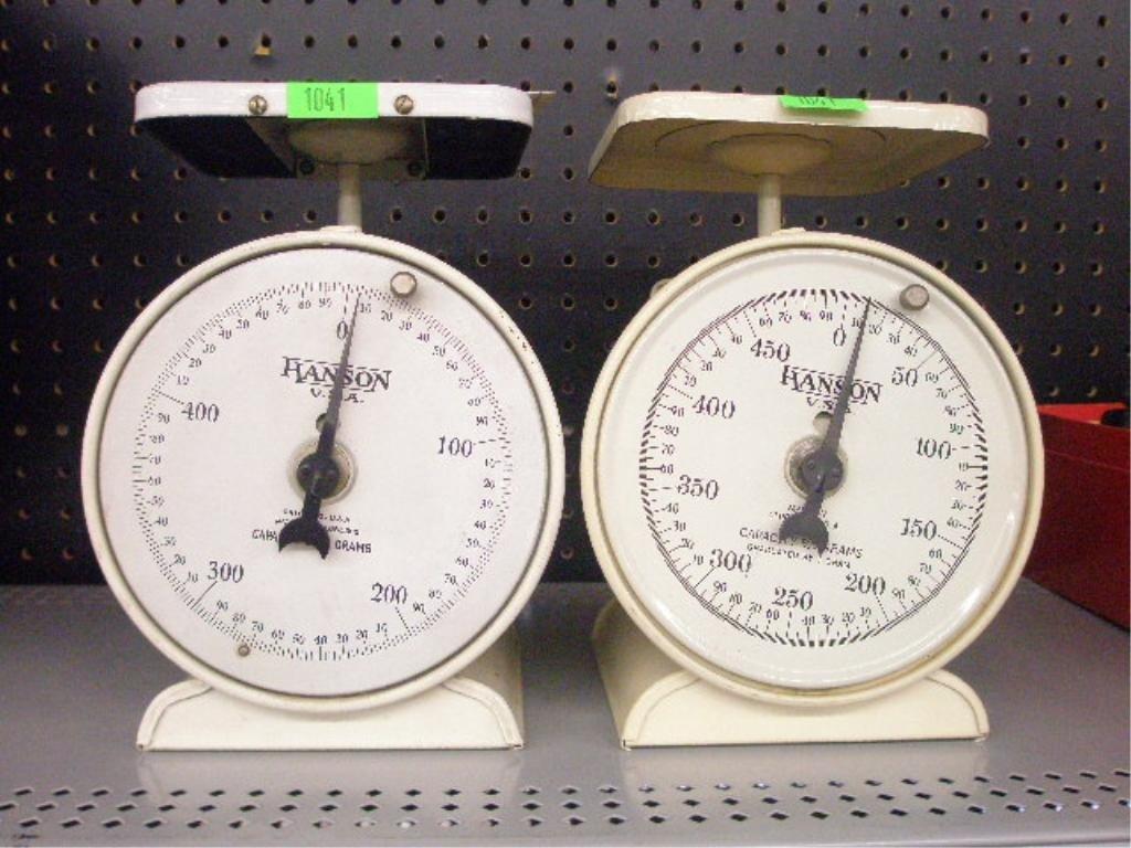 1041: (2) Hanson Diet Scales